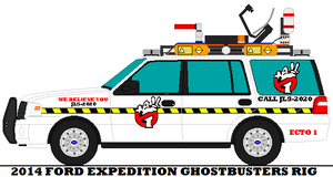 2014 Ford Expedition Ghostbusters Rig by mcspyder1