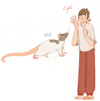 Cybil and Will by beeZah