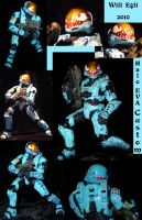 Halo Custom EVA suit - Collage 1 by SurfTiki