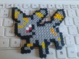 Umbreon Perler Sprite by SoupInsanity