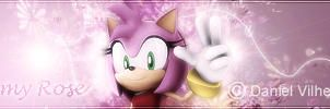 Amy Rose signature by Pyro6957
