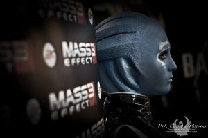 Asari From Mass Effect 3 - Concept by CriminalViolet