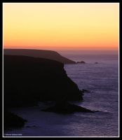 Coastal Sunset by Kernow-Photography