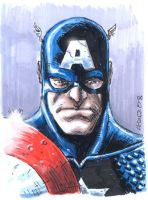 Captain america Painted by DTPayne