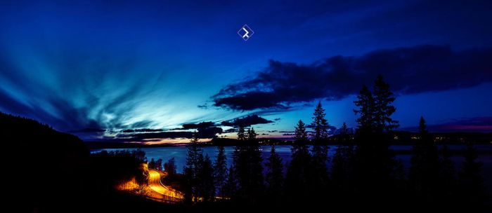 Sunset - Norway by D1versity