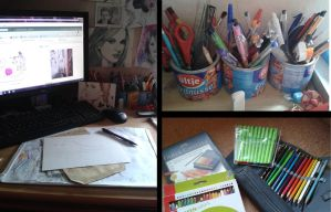 My Workingspace/Tools by Cindy-R
