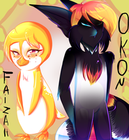 Pingulemur Parents n.01: Faizah and Okon by karsisMF97