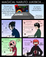The magical naruto jukebox... by x-Aiko-chan-x