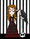 Ayah and Bones by Little-Horrorz