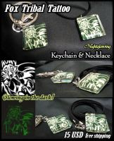 Fox Keychain and Necklace SOLD OUT by J-C