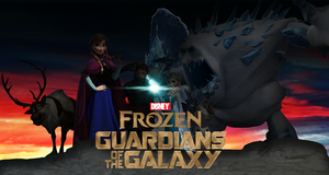 Frozen Guardians of the Galaxy by Jarvisrama99