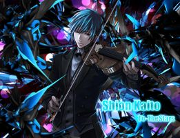 Vocaloid - Shion Kaito Violin Wallpaper by To-TheStars