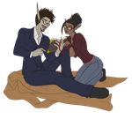 Crucible and Akiera - AT by The-Zombie-Cat