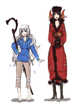 RoTG - More Genderbends by DinoTurtle