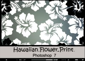 Hawaiian flower Brushes by DanieC