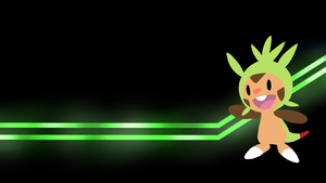 . Pokemon Wallpapers . Chespin! . by Flows-Backgrounds