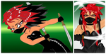 Ninja Comparison!!! by The-Ravulture