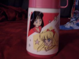 sailor moon thermos side b by KittyChanBB