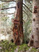 Tree Castle by ForestDwellerHouses