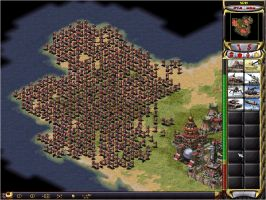 Red Alert 2 conscripts flood by RTS