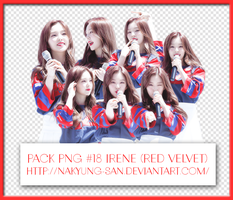 [ShareHappy300Watch#1][Free] Pack PNG #18 Irene by NaKyung-san