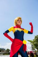 Captain Marvel 1.0 (2014) by greentealolz