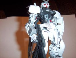 MBF-P00 Astray Silver Frame by BlackImpulse