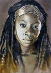 Michonne by DavidDeb
