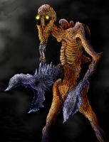 Parasitic Creature - colored by gwarmor13