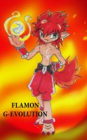 Digimon Frontier-FlamE by Tahki