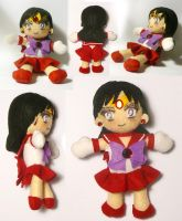 Sailor Mars Plushie v2.0 by sakkysa