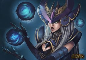 Syndra League of legends by ples001