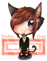 KCCC Chibi: Duke Cox [Contest Prize] by Pinepuruu