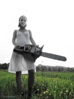 The chainsaw by Inilein