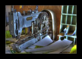 Sewing Machine by 2510620