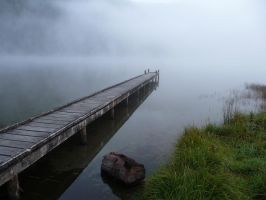 Lake Daniells Jetty by LiquidityImages