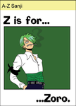 A to Z Sanji - z by airlobster