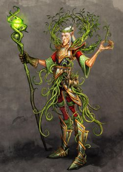 elf gardener by michalivan