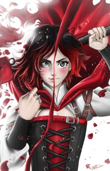 Ruby Rose by gscratcher