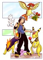 Pokemon Trainer by DibujameUnCordero