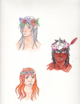 Flower Crowns by emilyk949