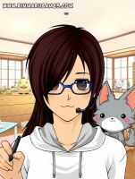 Me Anime Style!! by HalfWolfStudios