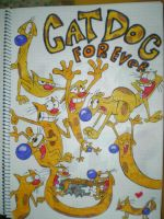 Catdog forever by HeinousFlame