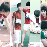 Idol sports day: Jonghyun by sparklingwater