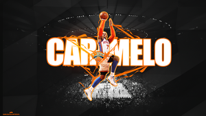 Carmelo Anthony by Kamiloza