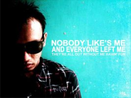 nobody like's me by fajarpanjiardi
