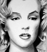 Marilyn Monroe by Rick-Kills-Pencils