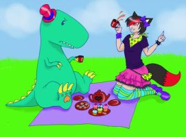 Enro picnic time by Pumpkin-Queen-Ildi