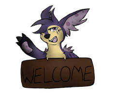 Grape- Welcome! by Lalaloraa