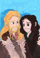 Durin Brothers by Rukiaoceanspirit1
